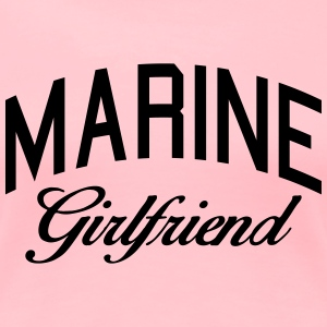 marine girlfriend Women's T-Shirts - Women's Premium T-Shirt