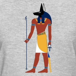 Anubis God of Funeral and Death Ancient Egypt Myth Women's T-Shirts - Women's T-Shirt