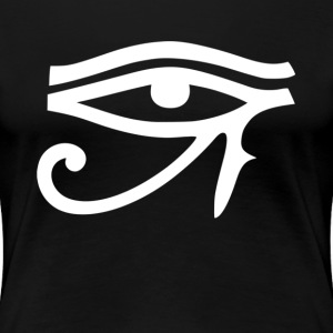 Horus Eye God of All Egypt Symbol Sign Women's T-Shirts - Women's Premium T-Shirt