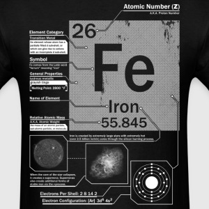 Iron Element t shirt - Men's T-Shirt