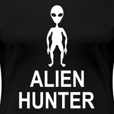 Alien Hunter UFO Space Universe Women's T-Shirts