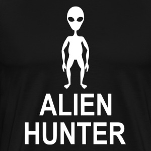 Alien Hunter UFO Space Universe T-Shirts - Men's Premium T-Shirt