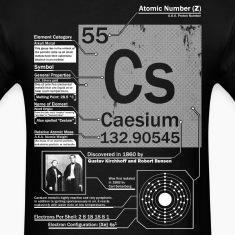 Caesium Element t shirt