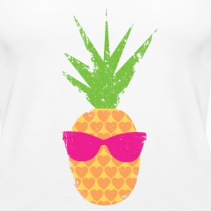 Rockin Lovin Pineapple - Women's Premium Tank Top