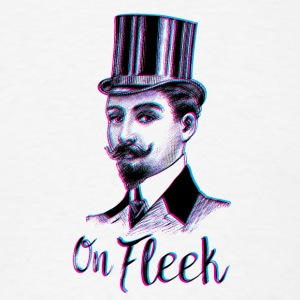 On Fleek Mustache Man T-Shirts - Men's T-Shirt