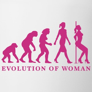 evolution_of_woman_striptease_052016_a_1 Mugs & Drinkware - Coffee/Tea Mug