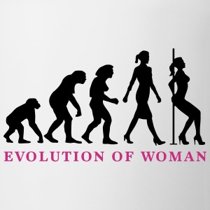 evolution_of_woman_striptease_052016_a_2 Mugs & Drinkware - Coffee/Tea Mug