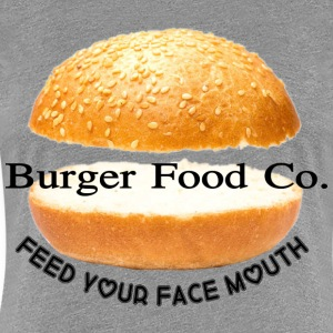 Burger Food Co. - Women's Premium T-Shirt