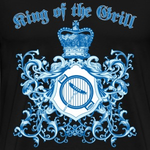 king_of_the_grill_05201601 T-Shirts - Men's Premium T-Shirt
