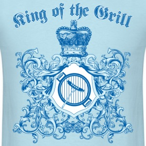 king_of_the_grill_05201601 T-Shirts - Men's T-Shirt