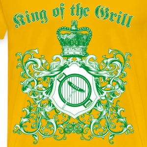 king_of_the_grill_05201602 T-Shirts - Men's Premium T-Shirt