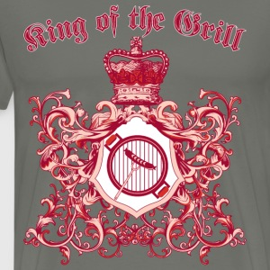 king_of_the_grill_05201603 T-Shirts - Men's Premium T-Shirt