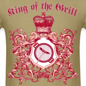 king_of_the_grill_05201603 T-Shirts - Men's T-Shirt