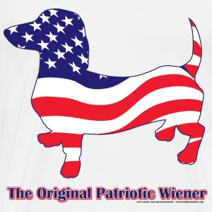 Original Patriotic Wiener - Men's Premium T-Shirt
