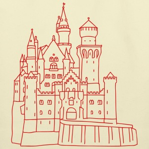 Neuschwanstein Castle Bags & backpacks - Eco-Friendly Cotton Tote