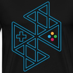 Abstract Gaming Men's T-Shirt