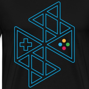 Abstract Gaming Men's T-Shirt - Men's Premium T-Shirt
