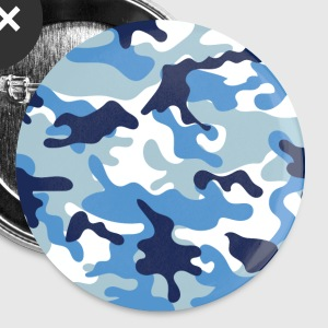 Blue camo - Small Buttons