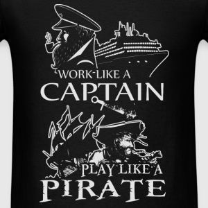 Captain - Pirate - Men's T-Shirt