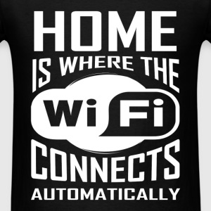 Wifi - Connects automatically - Men's T-Shirt