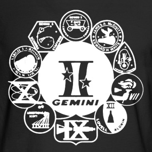 Project Gemini Shirt - Men's Long Sleeve T-Shirt