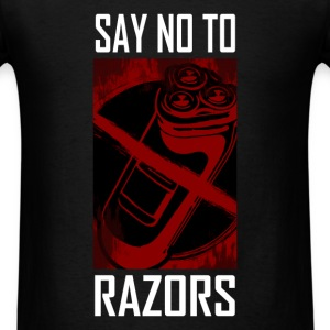 Razor - Say no - Men's T-Shirt