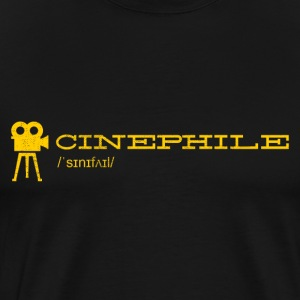 Cinephile: For Movie Lovers ♥ - Men's Premium T-Shirt