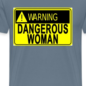 dangerous_woman__womens_tee_ - Men's Premium T-Shirt