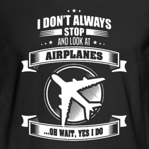 Airplanes Shirt - Men's Long Sleeve T-Shirt