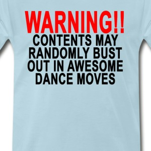 warning_contents_may_randomly_bust_out_i - Men's Premium T-Shirt