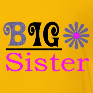 Big Sister Gold Color Tshirts - Kids' Premium T-Shirt