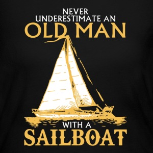 Sailboat Shirt - Women's Long Sleeve Jersey T-Shirt