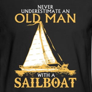 Sailboat Shirt - Men's Long Sleeve T-Shirt