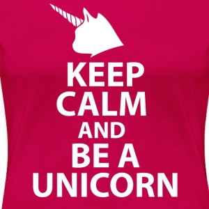 Keep Clam and be a Unicor Women's T-Shirts - Women's Premium T-Shirt