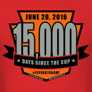 Design ~ #Flyers15kDay Shirt (NJ Edition)