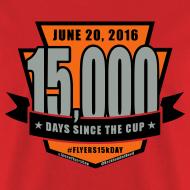 Design ~ #Flyers15kDay Shirt (NJ Edition)