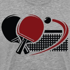 Table tennis sport T-Shirts