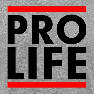 Pro Life Slogan Campaign Stop Abortion Sign T-Shirts - Men's Premium T-Shirt