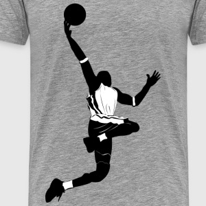 Basketball design elements - Men's Premium T-Shirt