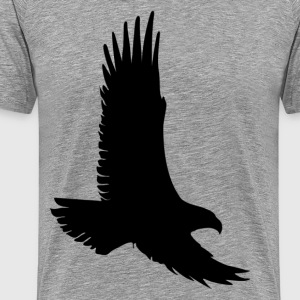 Eagle side view - Men's Premium T-Shirt