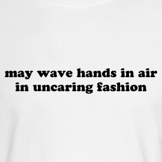 Wave your hands - Funny Long Sleeve Shirts