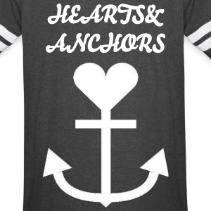 Hearts&Anchors - Jersey - Vintage Sport T-Shirt