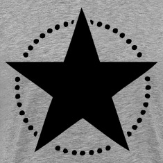 Black star dots T-Shirts