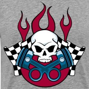 Devil piston engine art T-Shirts - Men's Premium T-Shirt