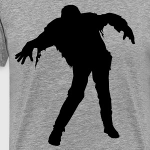 Ben blogged zombie T-Shirts - Men's Premium T-Shirt