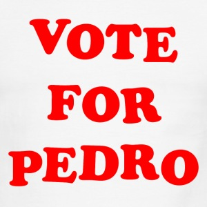 Vote for Pedro Napoleon Dynamite Movie Tribute  - Men's Ringer T-Shirt
