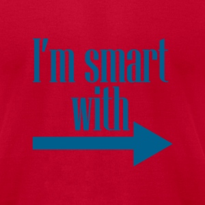 I'm smart with.... - Men's T-Shirt by American Apparel