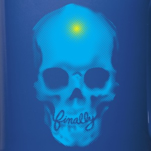 Finally Skull Punk Cyan - Full Color Mug
