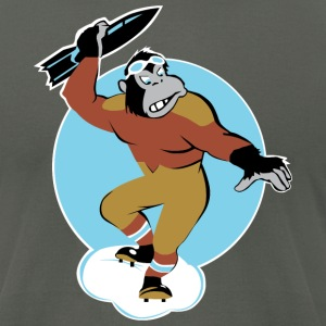 Gorilla Attack - Men's T-Shirt by American Apparel