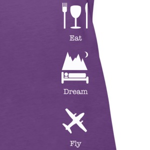 eat dream fly  - Women's Premium Tank Top